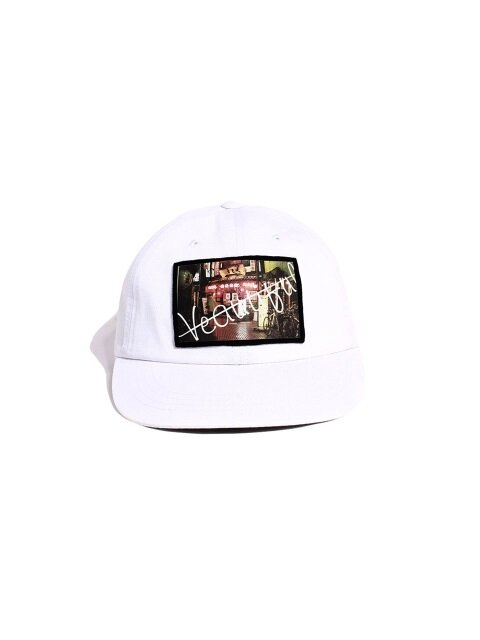VEAUTIFUL JP BALL CAP - WHITE