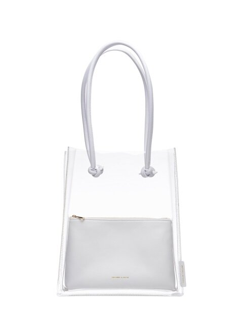 Carol clear bag_white