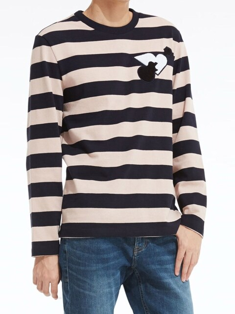 Stripe Artwork Long-Sleeve T-Shirt_PK (PWOE3RLRC4M0R5)