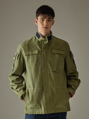 MILITARY MARCH JACKET - OLIVE