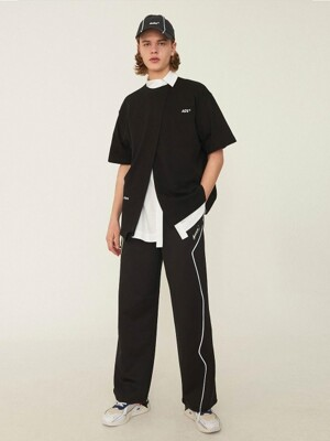 Thunder track trousers Noir
