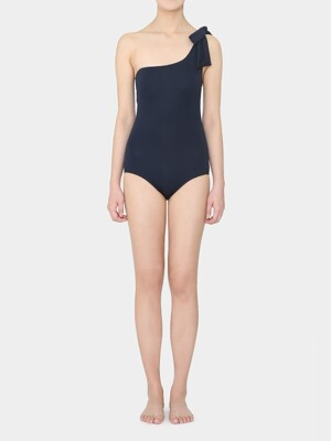 Navy Ola Ribbon Swimsuit