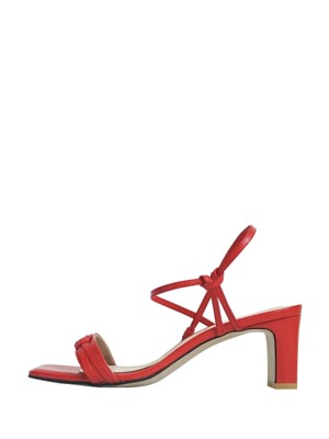 dallas sandal - red