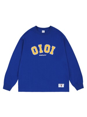 SPORTS LONG SLEEVE T-SHIRTS_blue