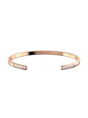 Cuff Collection - Rosegold 여성 뱅글 팔찌 PVJ001RG