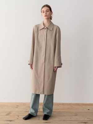 20SP SINGLE BREASTED TRENCH COAT (BEIGE)