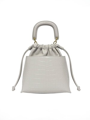 LILT MINI BUCKETBAG_ecru