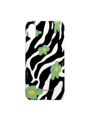 FLORAL ZEBRA PHONE CASE