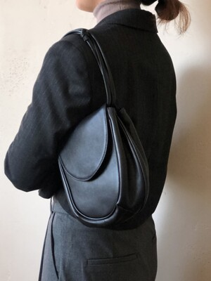 pebble bag black