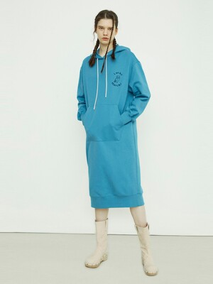 Hooded Sweat Dress with MARCH CHOUETTE (For WOMEN)_QUDAX21100BUX