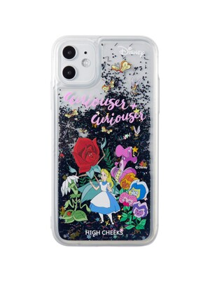 Alice in Garden Glitter Case