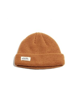 숏비니 WH LABEL WATCH CAP - MUSTARD