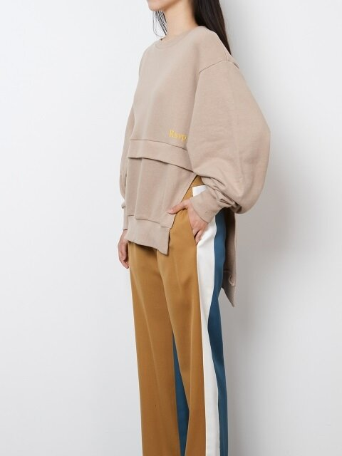 UNBALANCED SLEEVE SWEATSHIRT