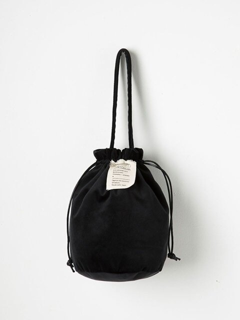 Strap Bucket Bag (Black) - P005B_BK