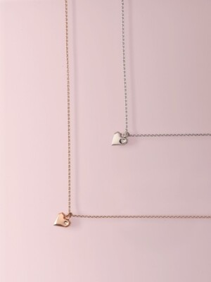 Nuovo Heart Necklace-[2 COLORS]
