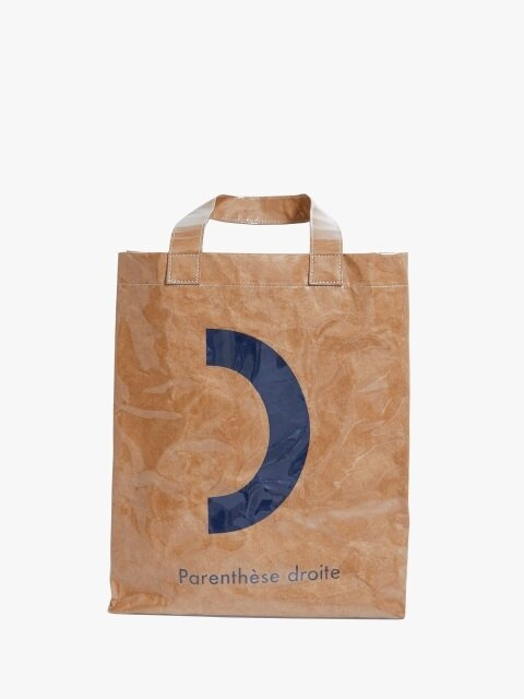 Emotion tote bag_parenthesis_NAVY