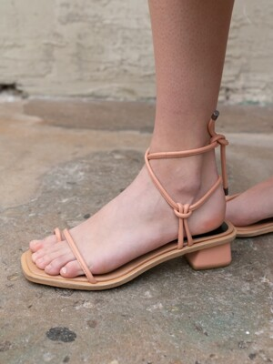 SIMPLE ROPE SANDAL C9S05PK