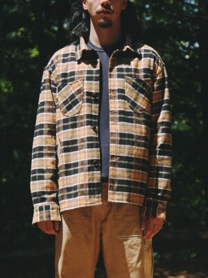 PARACHUTE FLANNEL JACKET [Orange]