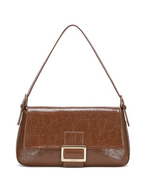 Wrinkle Leather Luke Bag in Brown_VX0AG0850
