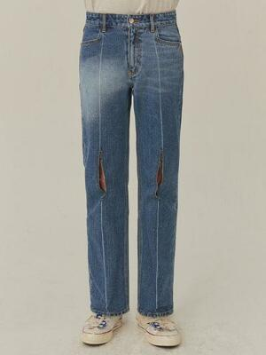Pollshing jeans Blue