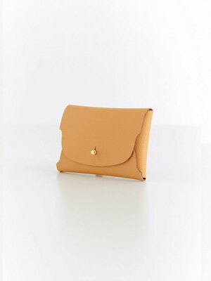 Soap Card Wallet_Mustard