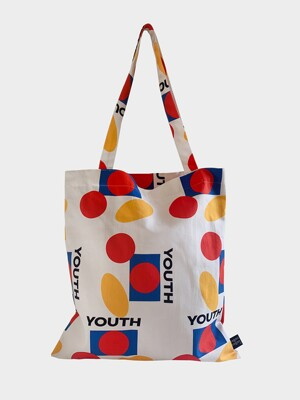 Youth white bag