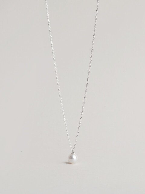 (SWAROVSKI PEARL)_PEARL POINT NECKLACE