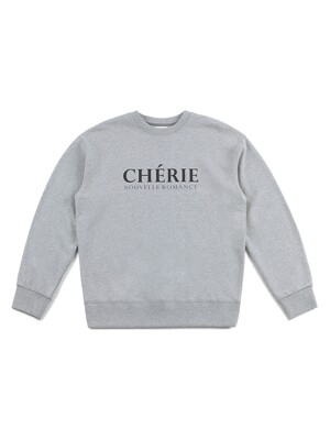 CHERIE SWEATSHIRT (GRAY)