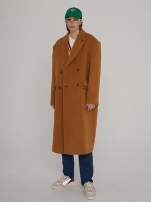Sherlock double coat Camel