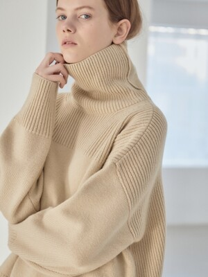 19WN roomy turtleneck [BE]