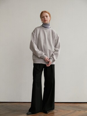 Soft sweatshirt - light gray