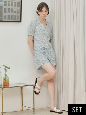 Daisy Blouse + Pants SET_2colors