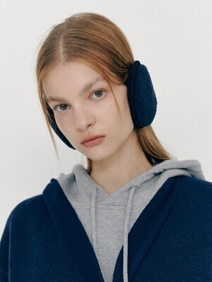 Fleece Ear Muff (Navy)
