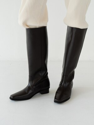 mc 018 classic long boots (black)