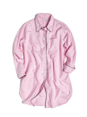 (W) Marilyn Night Shirt Oxford Pink
