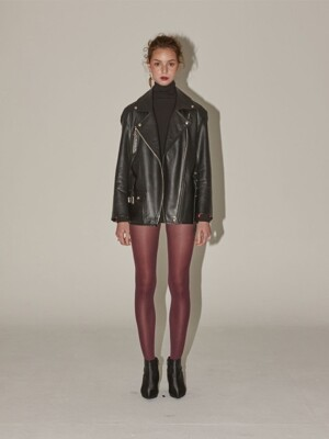 Matisse lambs leather Rider jacket - black