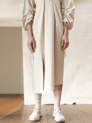 Dijon Asymmetric Dress