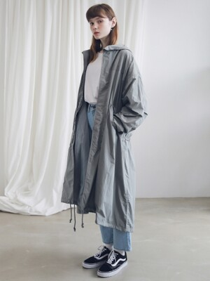 M-51 FISHTAIL LONG COAT ACT191001-GR