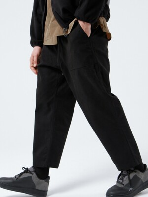 FATIGUE EASY CHINO PANTS (BLACK)