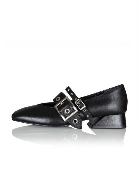Annette loafer / YA6-F071 / Black