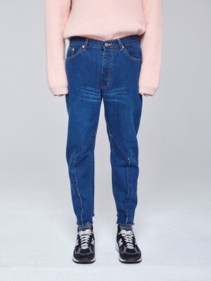 REMAKED BAGGY JEANS [DARK BLUE]