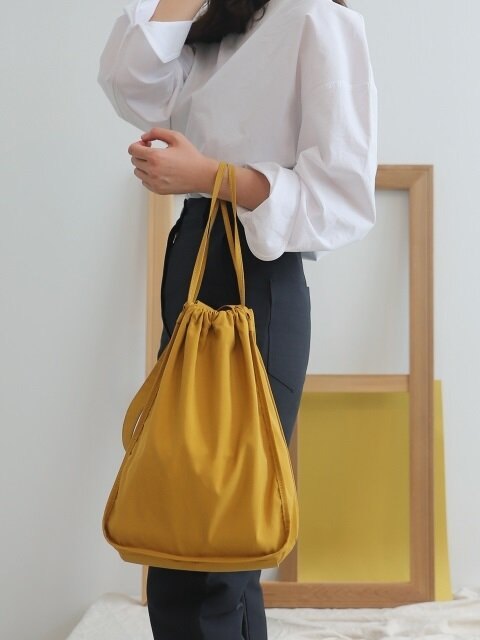 Onde bag_Nanjing yellow