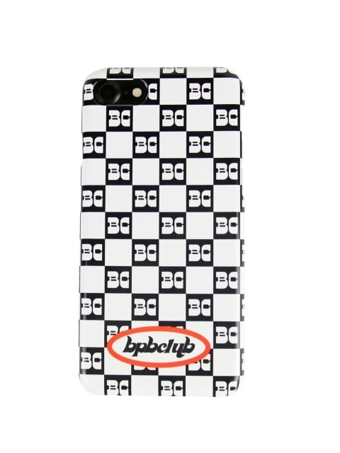 CHECKY LOGO IPHONE CASE_BLACK