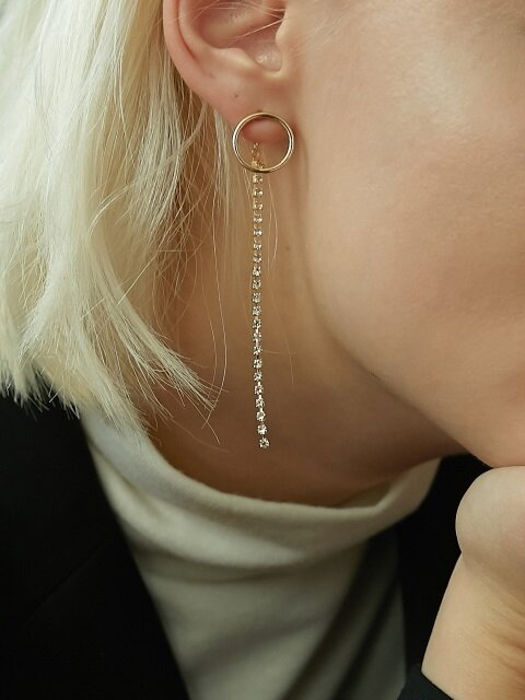 Ring & Cubic Earring
