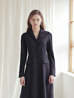 TAILORED DRESS_NAVY