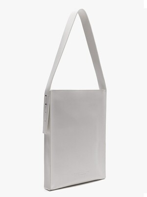 [리퍼브상품] LEATHER FLAT SHOULDER BAG (2COLORS)