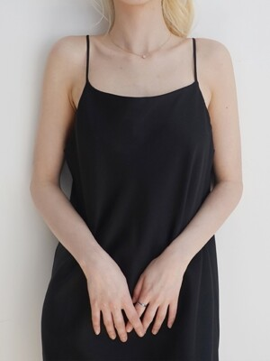 Mari Slip Dress #Black