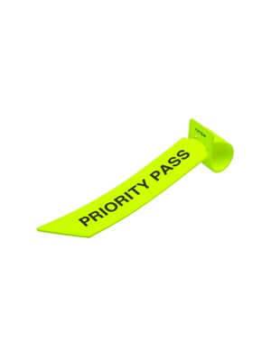 Priority tag _ Neon Yellow
