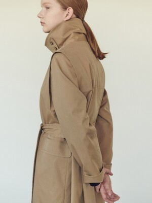 19FN single trench coat