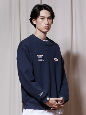 LT306_Triple Wappen Sweatshirts_Navy